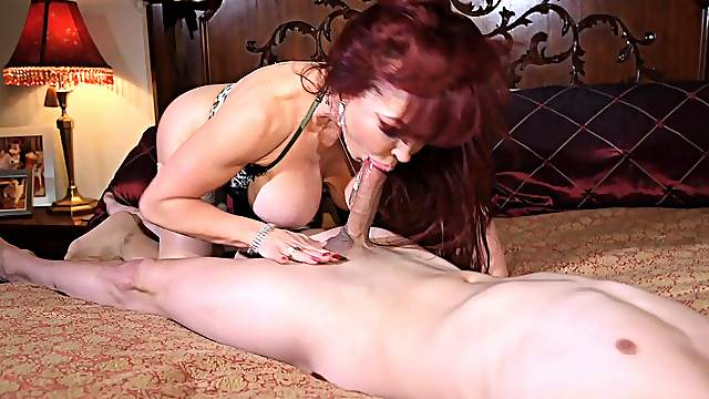 Amateur Red Head Blowjob